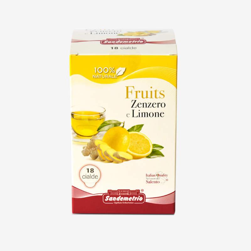 Tisana zenzero e limone Guarini