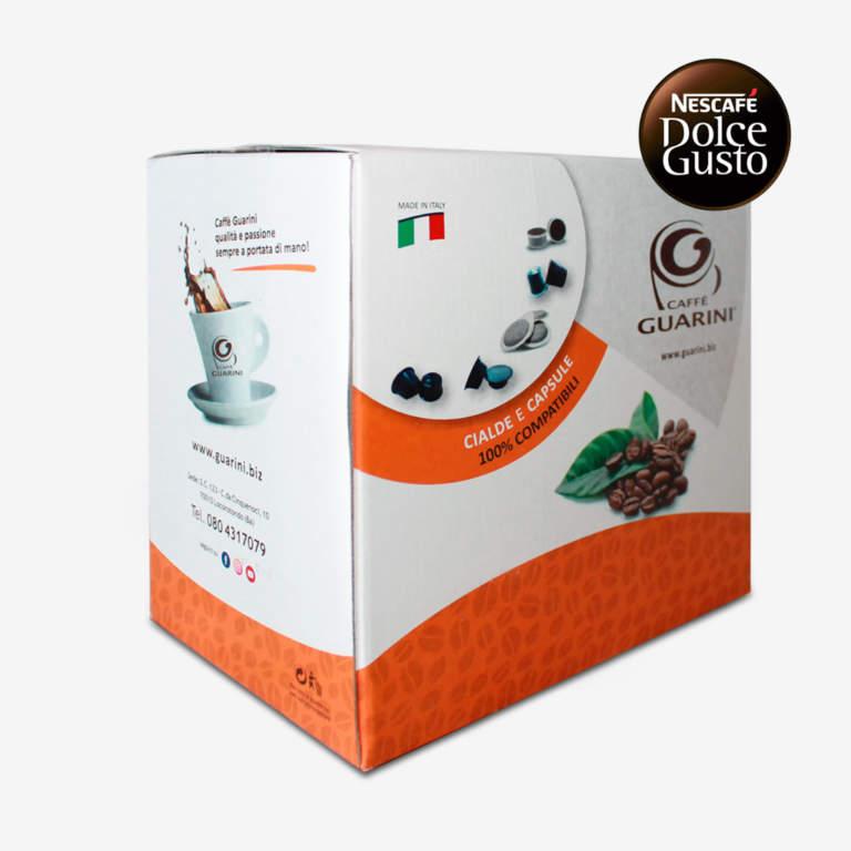 confezione capsule guarini compatibili dolcegusto
