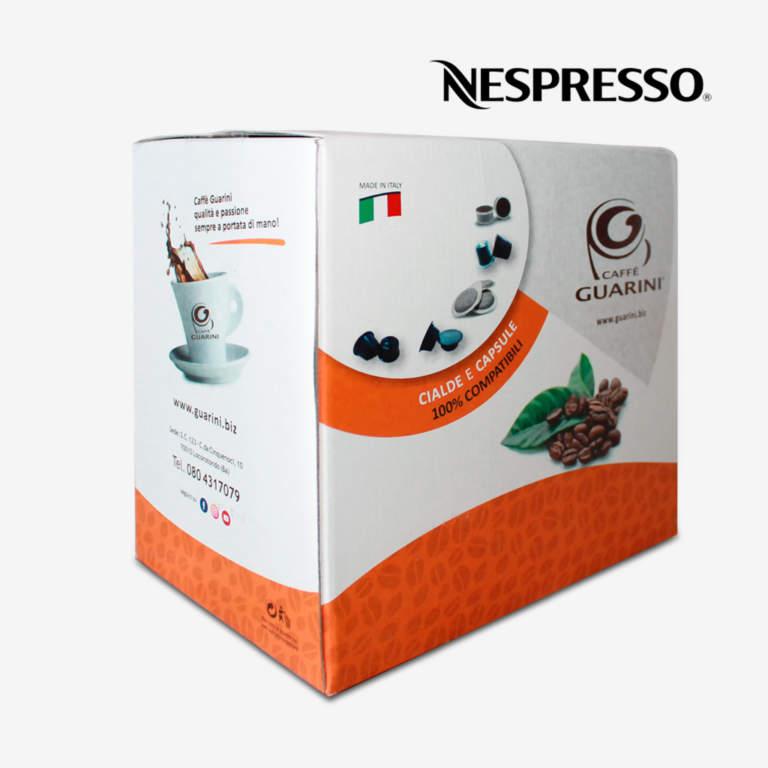 confezione capsule guarini compatibili nespresso